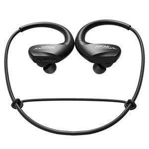 [11H Autonomie Longue] Mpow Écouteur Bluetooth sans Fil, IPX6 Casque Bluetooth Sport avec Micro pour Course à Pieds, Randonnée, Cyclisme, Gym, Voyage, iPhone et Android de la marque Mpow image 0 produit