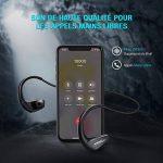 [11H Autonomie Longue] Mpow Écouteur Bluetooth sans Fil, IPX6 Casque Bluetooth Sport avec Micro pour Course à Pieds, Randonnée, Cyclisme, Gym, Voyage, iPhone et Android de la marque Mpow image 4 produit