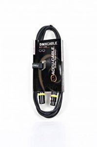 Accu Cable AC-DMX3/3 Câble 3-pin XLR mâle/3-pin XLR Femelle DMX 3 m de la marque Accu Cable image 0 produit