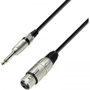 Adam Hall Cables K3MFP0300 Série 3 Star Câble Microphone XLR Femelle vers Jack 6,35 mm Mono 3 m de la marque Adam Hall image 0 produit