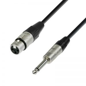 Adam Hall Cables K4MFP0150 Série 4 Star Câble Micro REAN XLR Femelle vers Jack 6,35 mm Mono 1,5 m de la marque Adam Hall image 0 produit