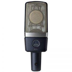 AKG C214 Microphone de Studio Statique Cardioïde Noir de la marque AKG image 0 produit