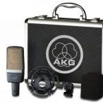 AKG C214 Microphone de Studio Statique Cardioïde Noir de la marque AKG image 1 produit