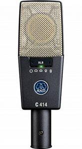 AKG C414 XLS Microphone Gris, Argent de la marque AKG image 0 produit