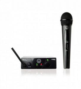 AKG WMS40MIN/V-ISM1 Microphone sans fil UHF Main Noir de la marque AKG image 0 produit