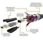 AmazonBasics Câble micro HDMI vers HDMI 2.0 haut débit 1,82m de la marque AmazonBasics image 4 produit