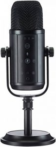 AmazonBasics Microphone professionnel USB à condensateur, Noir de la marque AmazonBasics image 0 produit