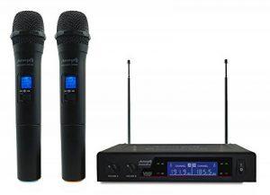 Audibax Missouri 2000 Microfono Inalámbrico Mano VHF Rango A de la marque Audibax image 0 produit
