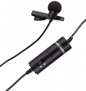Audio-Technica ATR3350 Micro-cravate à électret omnidirectionnel Noir de la marque Audio-Technica image 0 produit