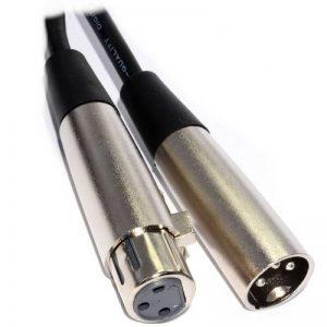 Balancé XLR Mle Fiche Vers XLR Femelle Femelle Noir cble Cordon 6 m de la marque kenable image 0 produit