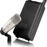 Behringer C-3 Microphone de studio à condensateur Double diaphragme Gris de la marque Behringer image 1 produit