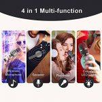 Beschoi Karaoke Micro sans Fil 4 en 1 Microphone Bluetooth 4.2 LED Lumière Disco avec Support Telephone Compatible avec Apple/Android/Smartphone/PC/iphone/iPad pour Adult et Enfant Gris de la marque Beschoi image 2 produit
