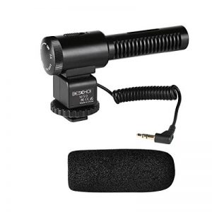 Beschoi Microphone Directionnel Micro Condensateur Micro d'enregistrement Interview pour DSLR Appareil Photo Caméscope de la marque Beschoi image 0 produit