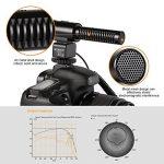 Beschoi Microphone Directionnel Micro Condensateur Micro d'enregistrement Interview pour DSLR Appareil Photo Caméscope de la marque Beschoi image 3 produit