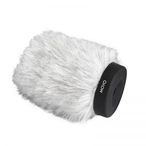 Bonnette anit-Vent Professionnelle Movo WS120, avec Technologie de Mousse Acoustique, pour Les Microphones de jusqu'à 10cm de Longueur de la marque Movo image 0 produit