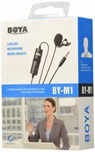 Boya BY-M01 Microphone Cravate Lavalier Omni-directionnel de la marque Boya image 0 produit