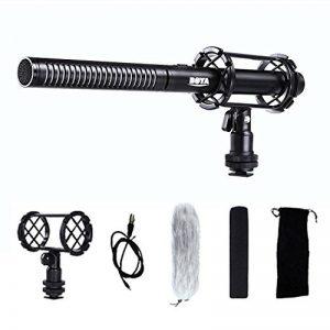 BOYA BY-PVM1000 Microphone Directionnel à Condensateur Mic Shotgun 3.5mm pour Appareil Photo Reflex pour Canon Sony Nikon Pentax de la marque Boya image 0 produit