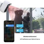Caméra Surveillance WiFi, Wansview 100% Caméra sans Fil avec Détection de Mouvement, Caméra de Batterie Rechargeable pour Intérieur/Extérieur, Fente pour Carte Micro SD 1080P B1 de la marque wansview image 2 produit