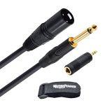 câble xlr male jack mono TOP 7 image 1 produit