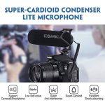 COMICA CVM-V30 Lite Shotgun Microphone Super-Cardioïde Condenseur Directionnel Vidéo Micro pour DSLR Reflex Caméscope appareils Photo et Smartphones iPhone Android de la marque COMICA image 1 produit