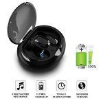 Ecouteur Bluetooth Sans Fil,DryMartine V4.2 Mini Portable Intra Auriculaires Oreillette Bluetooth Avec Micro Boîte de Chargement,X5 Antibruit Etanche Sport Écouteurs de la marque DryMartine image 1 produit