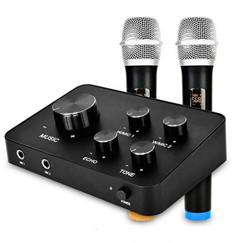 Son Syst/ème audio professionnel pour mixeur de son karaok/é Syst/ème de mixage Echo pour mini-ordinateur audio num/érique portable