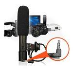 Espeedy universel de 3,5mm micro microphone stéréo externe pour Canon Nikon DSLR Caméra Caméscope DV de la marque Espeedy image 3 produit