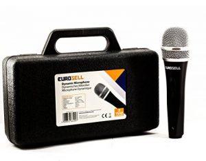 eurosell–Scène Microphone dynamique–CHANT & + Coffret + 5m de câble Ltd Jack MIC SET Micro Micro Chant dynamique de la marque Eurosell image 0 produit