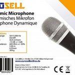 eurosell–Scène Microphone dynamique–CHANT & + Coffret + 5m de câble Ltd Jack MIC SET Micro Micro Chant dynamique de la marque Eurosell image 3 produit