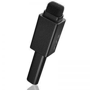 Excelvan H6 Microphone Sans Fil Professionnel Bluetooth Micro Main avec Audio Câble pour Utilisation Domestique Bar KTV Réunion … de la marque Excelvan image 0 produit