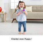 Fisher-Price le Micro de Puppy Jouet Bébé, Deux Modes de Jeu pour Apprendre en Musique et Enregistrer Sa Voix, 18 Mois et Plus, FBP31 de la marque Fisher-Price image 2 produit