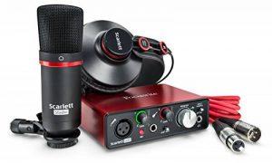 Focusrite Scarlett Solo Studio (2G) Interface audio USB et audio avec outils Pro Tools de la marque Focusrite image 0 produit