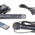 Ibiza Port 8 VHF - Enceinte sono portable - Haut parleur avec micro sans fil et micro fil et lecteur MP3 (USB SD, chassis ABS, batterie longue durée) de la marque Ibiza image 4 produit
