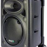 Ibiza Port 8 VHF - Enceinte sono portable - Haut parleur avec micro sans fil et micro fil et lecteur MP3 (USB SD, chassis ABS, batterie longue durée) de la marque Ibiza image 3 produit