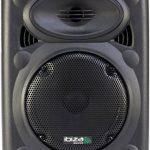 Ibiza Port 8 VHF - Enceinte sono portable - Haut parleur avec micro sans fil et micro fil et lecteur MP3 (USB SD, chassis ABS, batterie longue durée) de la marque Ibiza image 1 produit