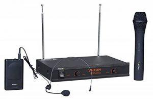 Ibiza VHF2H Microphone sans fil Noir de la marque Ibiza image 0 produit