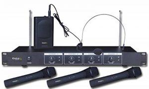 Ibiza VHF4 Microphone sans fil Noir de la marque Ibiza image 0 produit