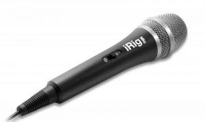 IK Multimedia iRigMic Microphone à main pour iPhone/iPad de la marque IK Multimedia image 0 produit