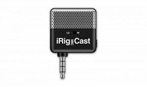 IK Multimedia iRigMicCast Microphone Ultra-Compact pour iPhone/iPod/iPad Noir de la marque IK Multimedia image 0 produit