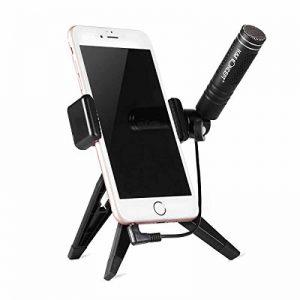 K&F Concept Micro Condensateur 3,5 mm Microphone Filiaire pour Smartphone avec Trépied de Support de la marque K&F CONCEPT image 0 produit