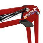 keepdrum nb35RD rouge bras articulé Pied de micro + 6m de câble Micro XLR Rouge de la marque Keepdrum image 3 produit