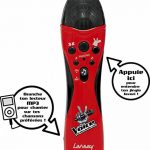 Lansay - 17558 - Accessoire Pour Instrument De Musique - Micro The Voice de la marque Lansay image 1 produit