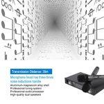 LESHP Système de microphone sans fil avec écran LCD dynamique Dual Channel Microphones de poche Karaoké Mixer pour mariage en plein air, Conférence, Karaoké, Soirée de la marque LESHP image 3 produit