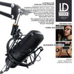LIAM & DAAN - Microphone à condensateur + Support de Bras réglable + Suspension Antichoc + 1 Filtre Anti-Pop + 1 Filtre Anti-Vent | Microphone de Studio Phantom +48V | Câble XLR/Jack 3,5mm Inclus de la marque LIAM & DAAN image 2 produit