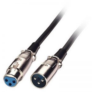 LINDY 6052 - Câble audio XLR - Mâle à Femelle - Noir - 1,5m de la marque Lindy image 0 produit
