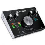 M-Audio M-Track 2x2 Vocal Studio Pro - Pack d'Enregistrement avec Interface M-Track 2x2, Microphone à Condensateur Nova, Câble XLR, Casque Audio HDH40 et Série de Logiciels de Musique de la marque M-Audio image 2 produit