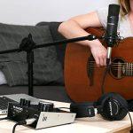 M-Audio M-Track 2x2 Vocal Studio Pro - Pack d'Enregistrement avec Interface M-Track 2x2, Microphone à Condensateur Nova, Câble XLR, Casque Audio HDH40 et Série de Logiciels de Musique de la marque M-Audio image 1 produit