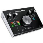M-Audio M-Track 2x2 Vocal Studio Pro - Pack d'Enregistrement avec Interface M-Track 2x2, Microphone à Condensateur Nova, Câble XLR, Casque Audio HDH40 et Série de Logiciels de Musique de la marque M-Audio image 2 produit