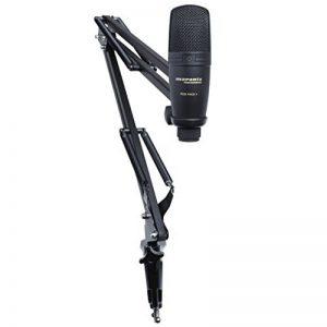 Marantz Professional Pod Pack 1 - Kit de Podcasting Complet avec Microphone à Condensateur USB Professionnel, Stand Ajustable et Câble USB de la marque Marantz Professional image 0 produit