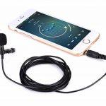 Micro Cravate pour Téléphone, Gyvazla 3.5mm Audio Jack Omnidirectionnel Microphone Condensateur Tie Clip on pour Youtube / Interview / Podcast / Vidéo, Projet pour IOS / Andriod / Windows / Mac (2m) de la marque Gyvazla image 3 produit